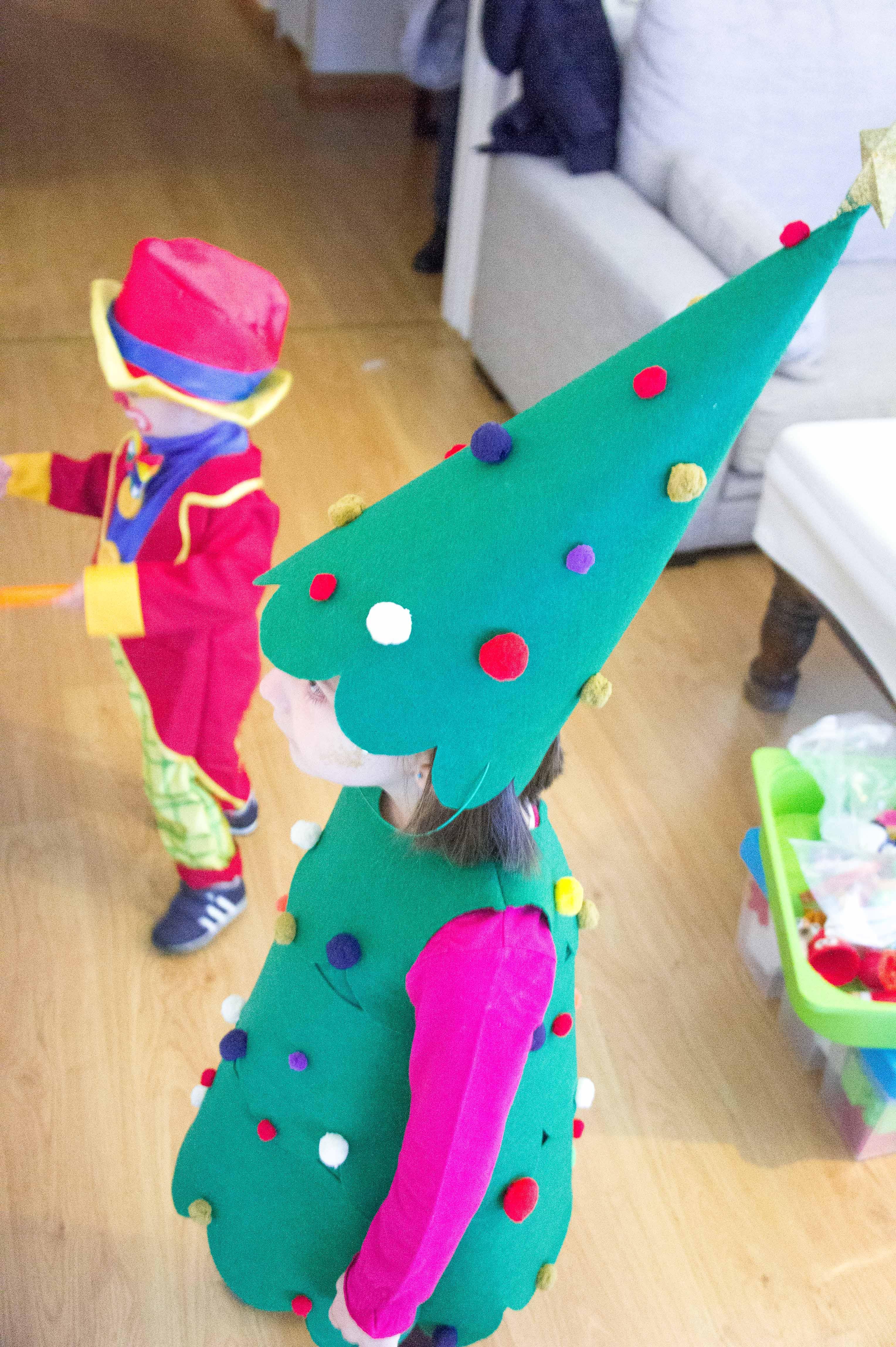 Disfraces Caseros árbol De Navidad Sonambulistas