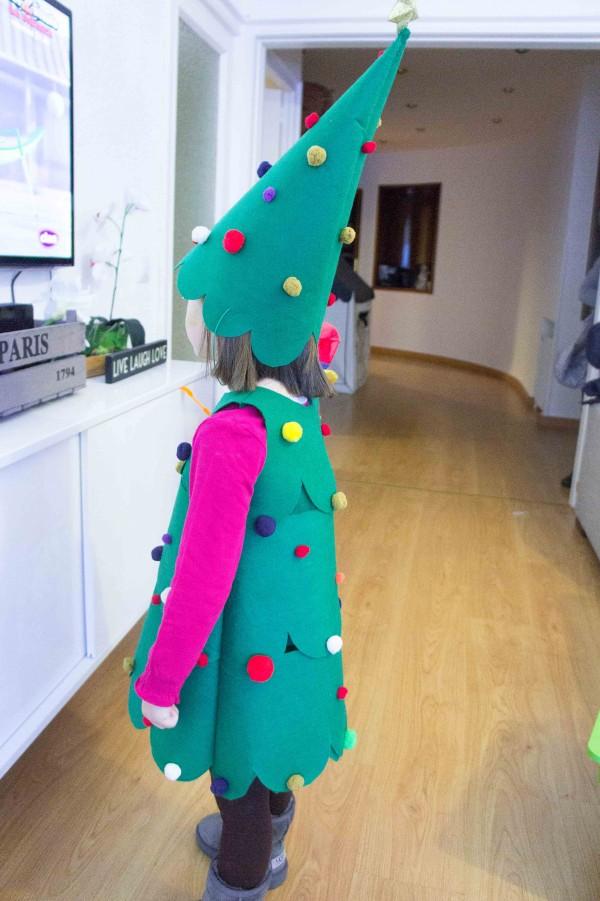 Disfraces caseros: Árbol de Navidad - Sonambulistas