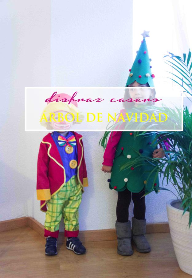 Disfraces caseros rbol de navidad sonambulistas - Disfraz de navidad para bebes ...