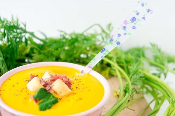 Crema de Zanahoria-calabacines-recetas-verduras-sanas