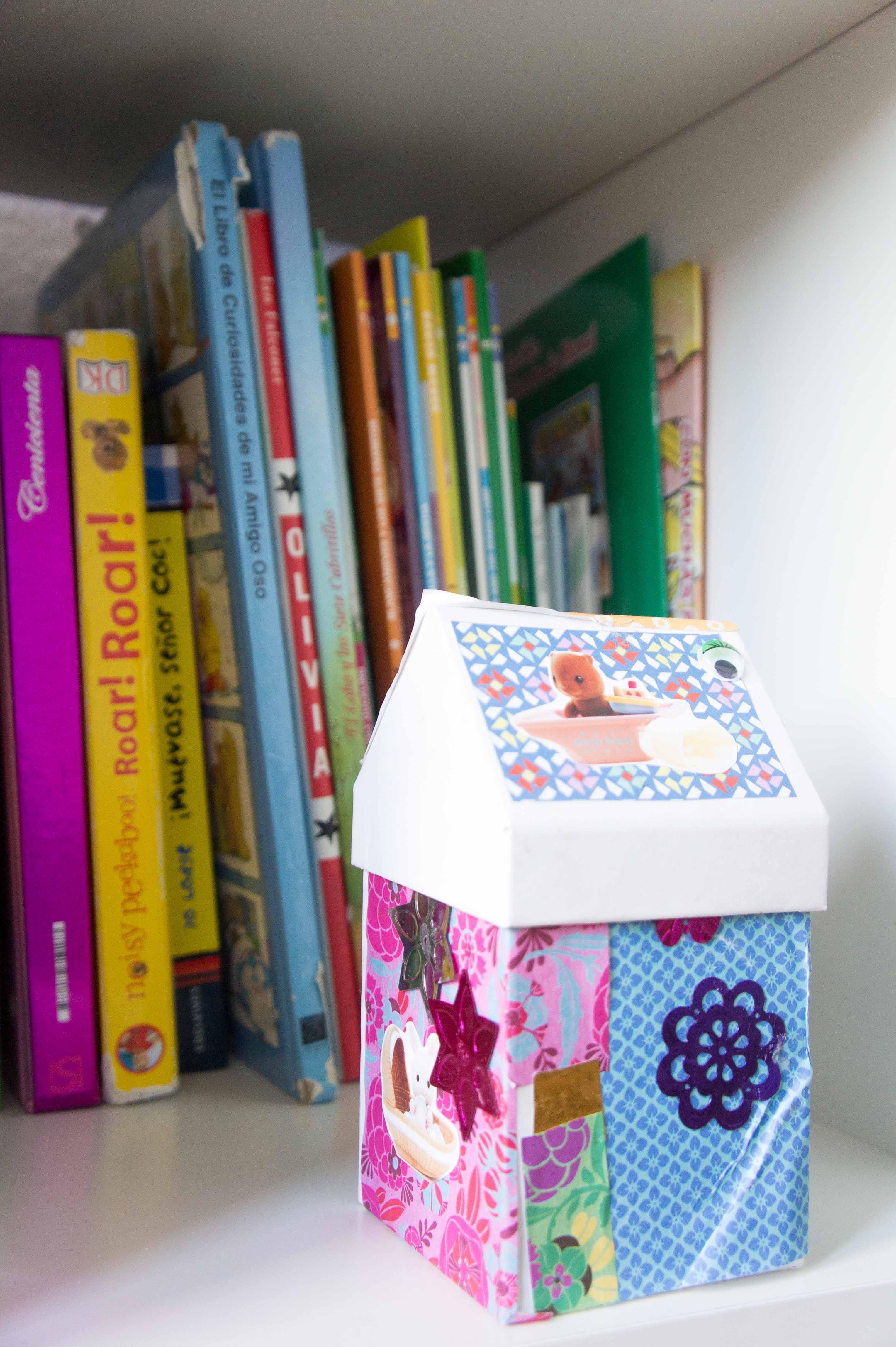 Diy cajas de cart n decoradas sonambulistas - Cajas de carton decoradas baratas ...