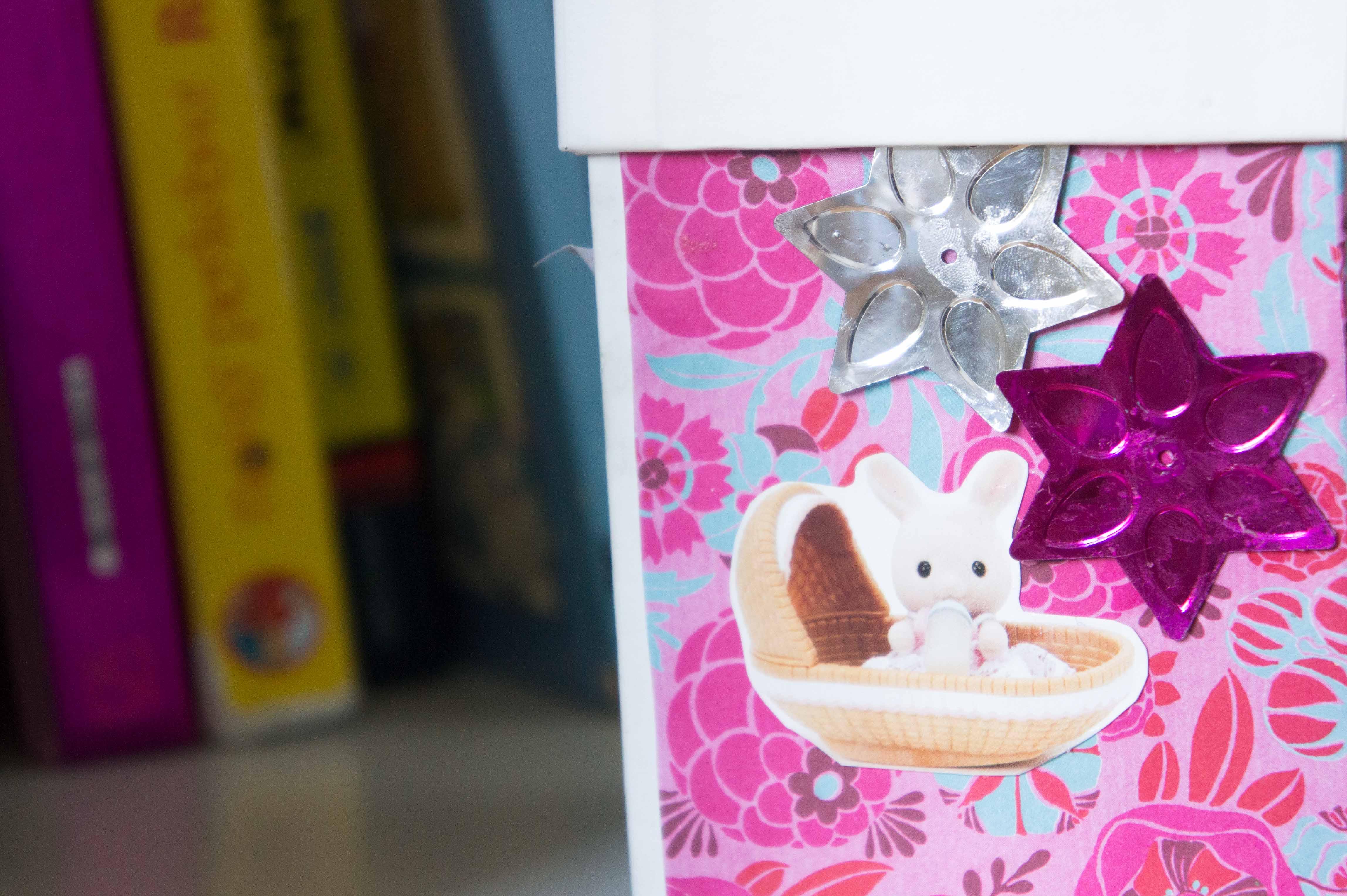 Diy cajas de cart n decoradas sonambulistas - Cajas de decoracion ...