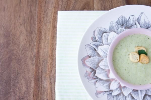 Crema de brócoli - Broccoli Cream - Recetas Verduras
