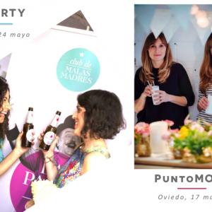 Mayo promete: La Party y PuntoMOM