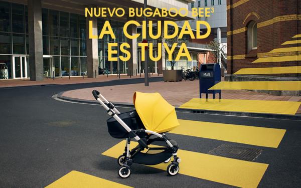 Nuevo Bugaboo Bee 3 La ciudad es tuya