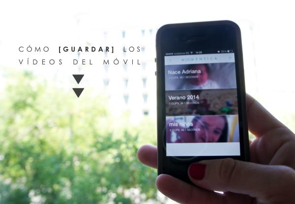 App para guardar vídeos: Momentica