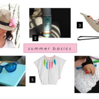 Mi lista de básicos para este verano