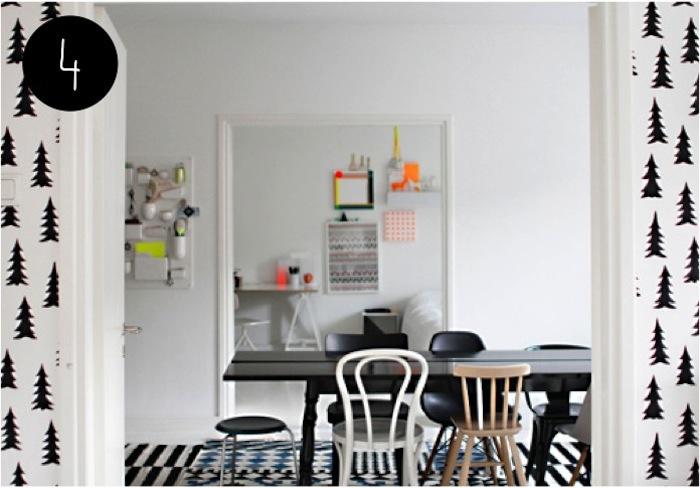 5 ideas para habitaciones infantiles en blanco y negro - Dormitorios blanco y negro ...