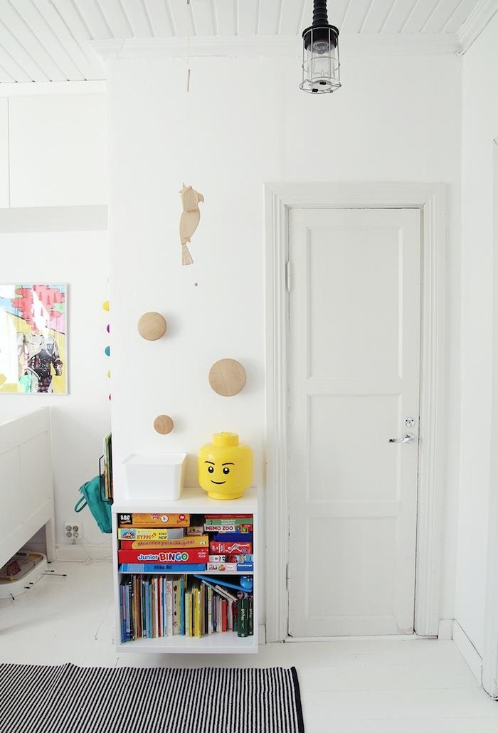 habitaciones infantiles blanco y negro ideas