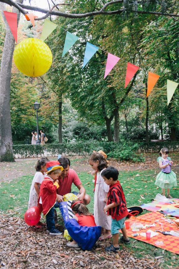 organizar cumpleaños en el parque - el retiro