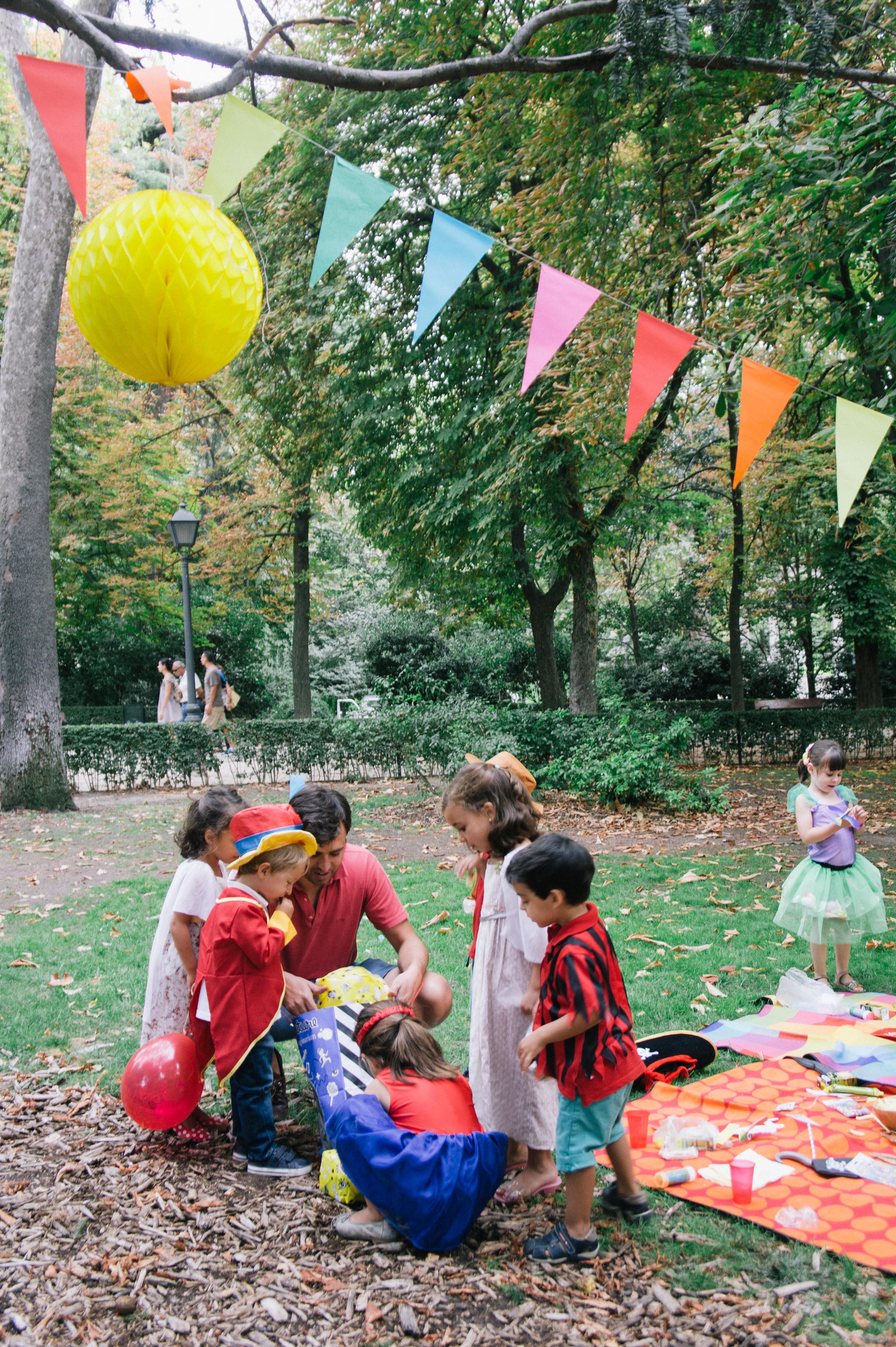De cumplea os en el parque de el retiro sonambulistas for Decoracion de parques