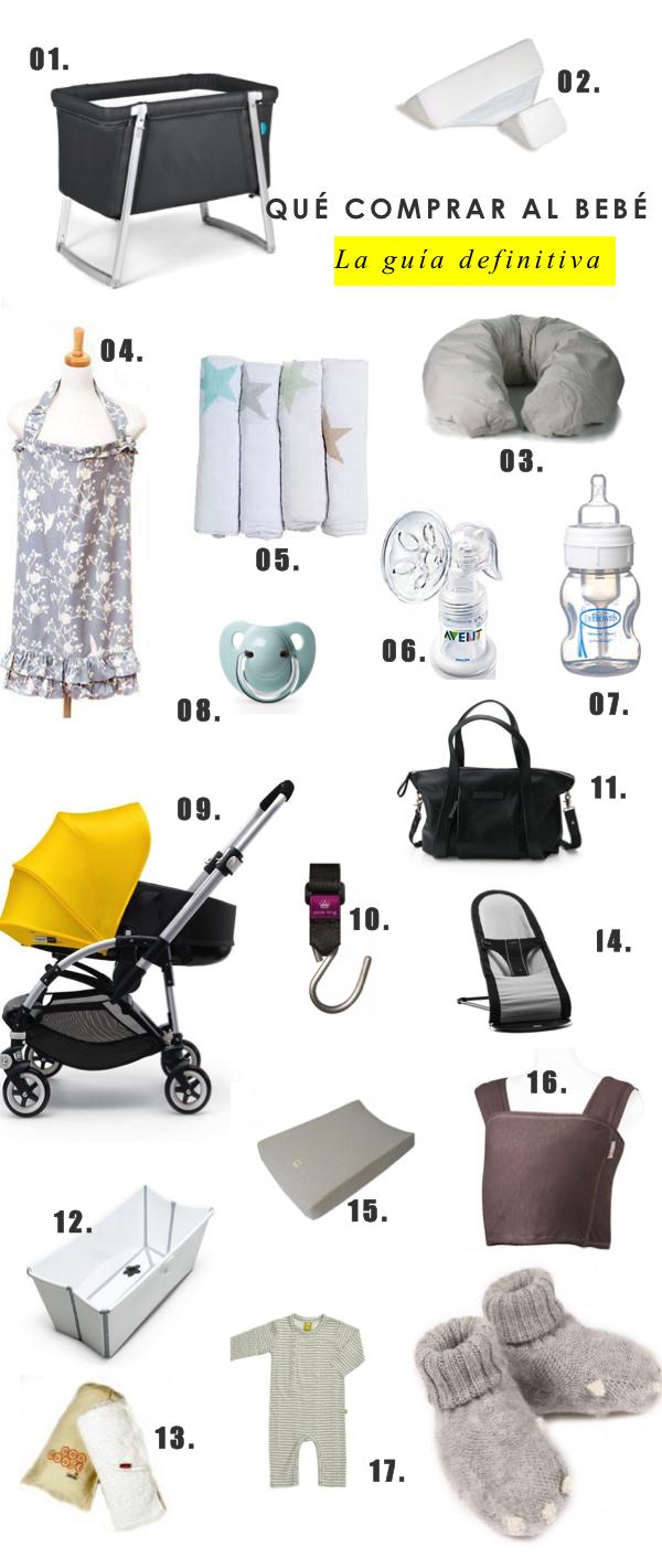 qué comprar al bebé recién nacido