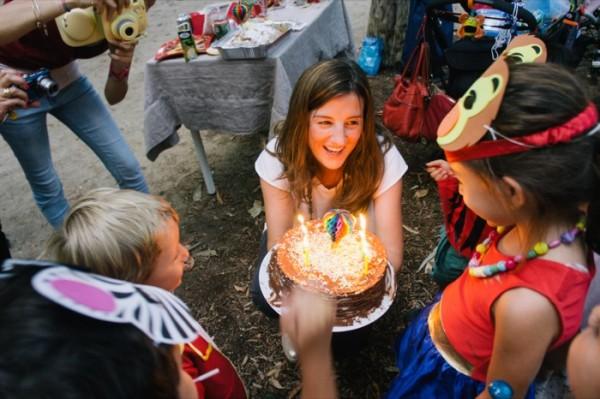 organizar cumpleaños en el parque