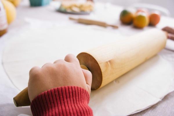 receta croissants hojaldre rellenos