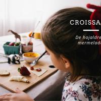 Receta de Croissants de Hojaldre con Mermelada