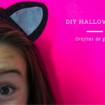 Disfraces caseros para Halloween: orejitas de gato