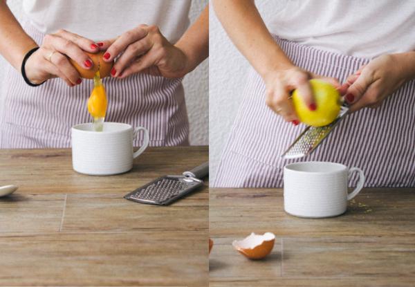 bizcocho de limón en taza en el microondas-7
