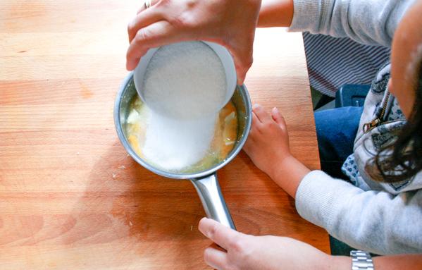 receta de mousse de limón fácil