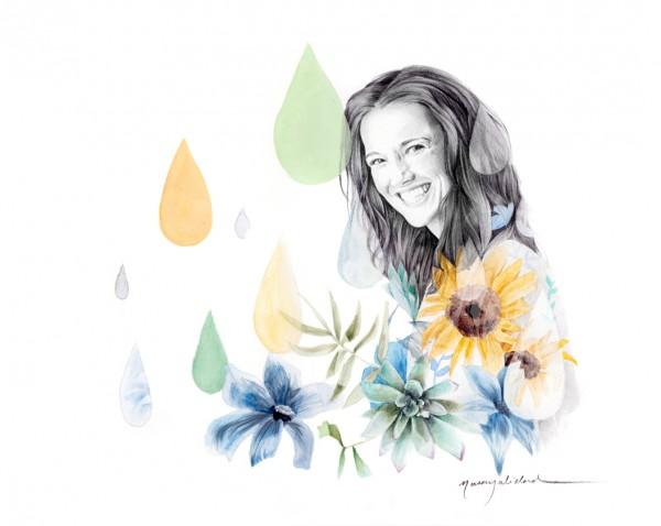Beatriz Gaspar de Con Botas de Agua - Naranjalidad