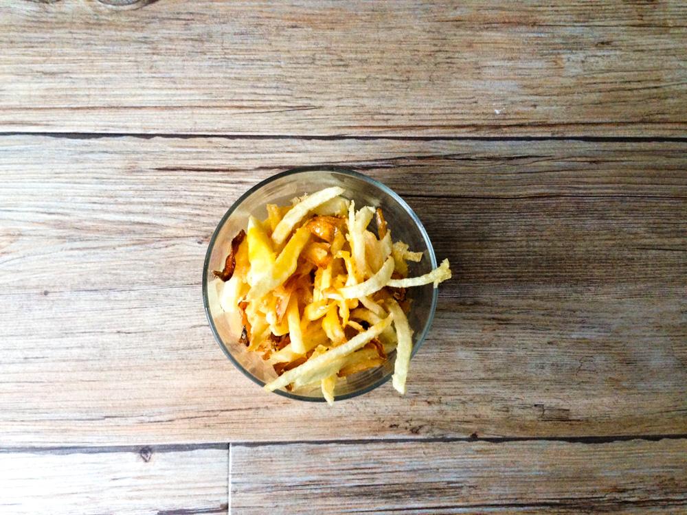 receta tortilla de patatas en tempura - Chicote