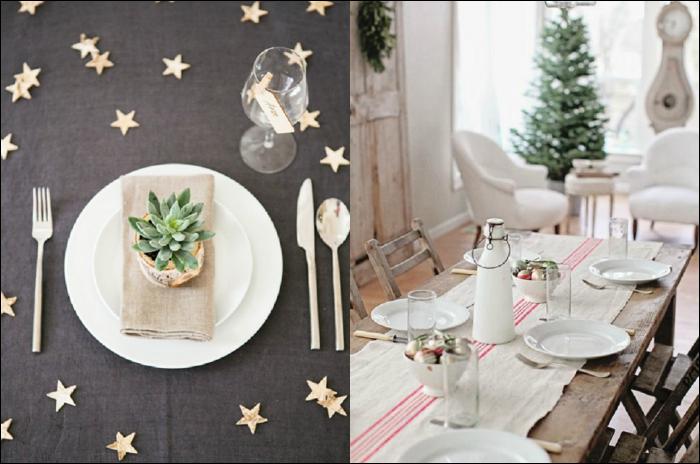 ideas mesas de navidad