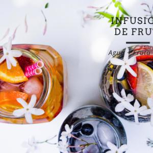 3 Infusiones de frutas naturales