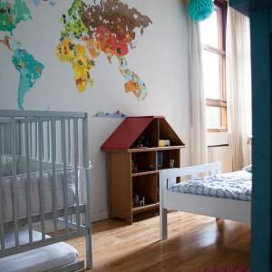 Una habitación de tres