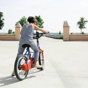 De cómo aprendieron a montar en bici