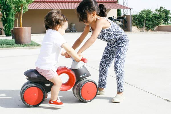 aprender a montar en bici