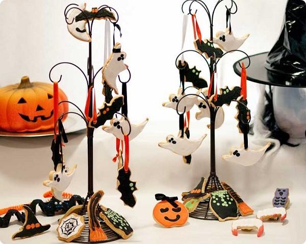 Galletas-para-Halloween-en-arbol