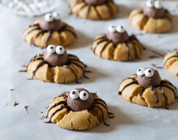 galletas con araña