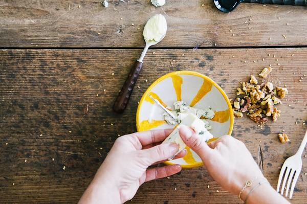 salsa de roquefort preparacion