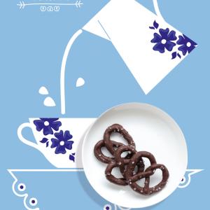{Gastropolita}  Pretzel de Chocolate