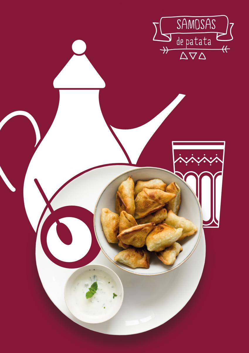 receta de Samosas de patata