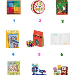 {El finde está servido} 9 Juegos de viaje para niños