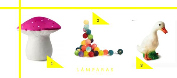 DECORACION INFANTIL LAMPARAS PARA NIÑOS