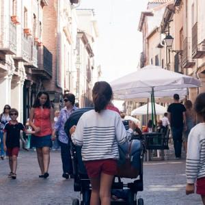 Escapada a Alcalá de Henares + Bugaboo Donkey Weekender