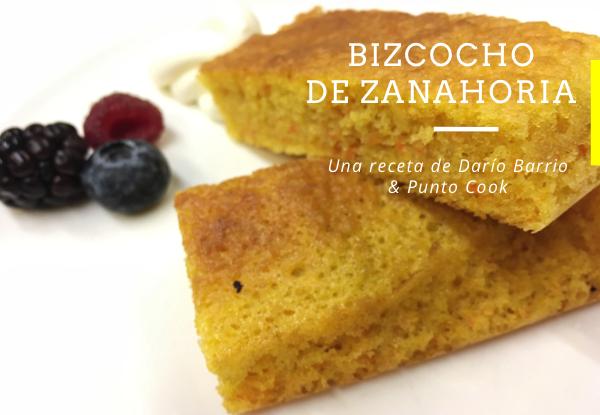 receta de Bizcocho zanahoria