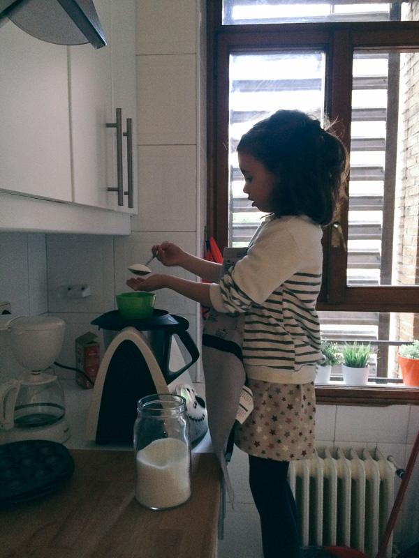 cocinar ninos