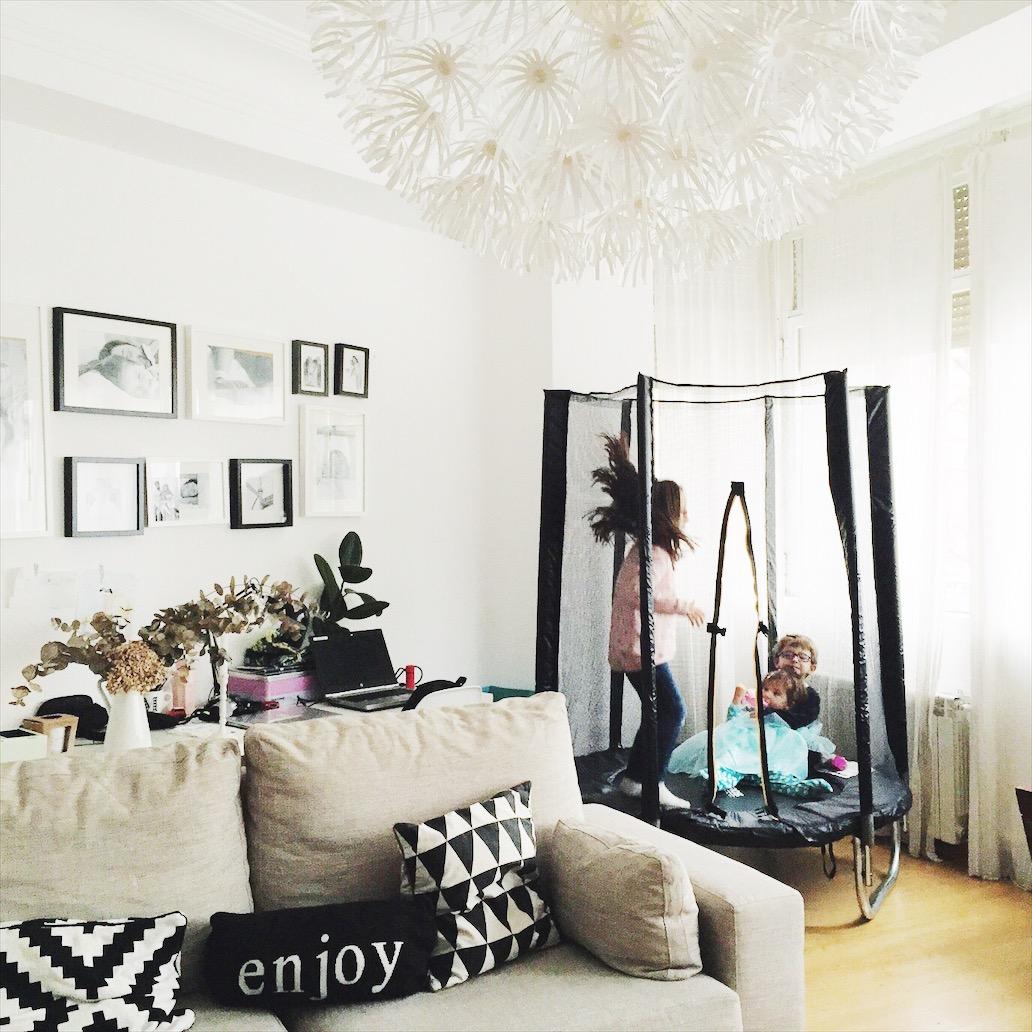 cama elastica ninos
