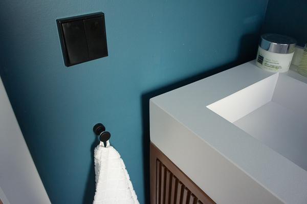 perchas accesorio baño negro toallas leroy merlin